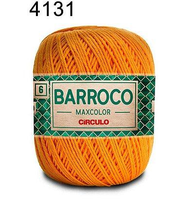 Barbante Barroco 6 Cor 4131 Dark Cheddar (885 Tex) 200gr - Círculo