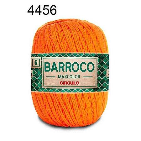 Barbante Barroco 6 Cor 4456 Laranja (885 Tex) 200gr - Círculo