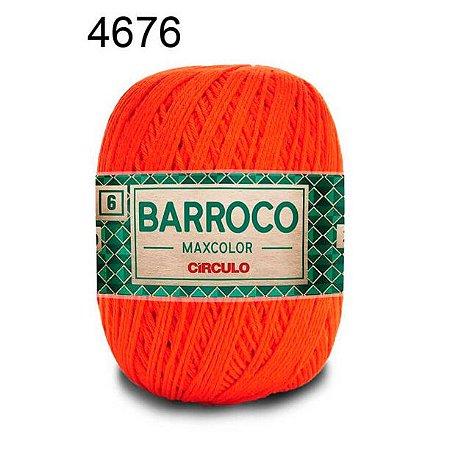Barbante Barroco Maxcolor 6 Cor 4676 Brasa (885 Tex) 200gr - Círculo