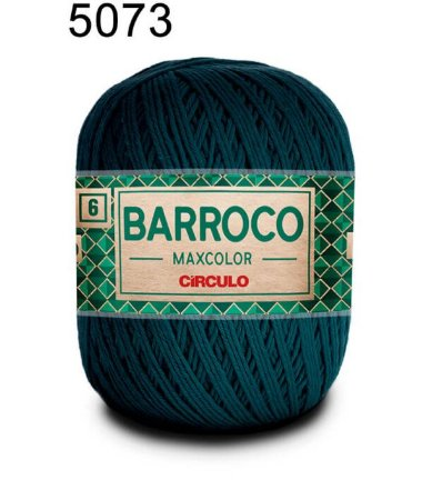 Barbante Barroco Maxcolor 6 Cor 5073 Petróleo (885 Tex) 200gr - Círculo
