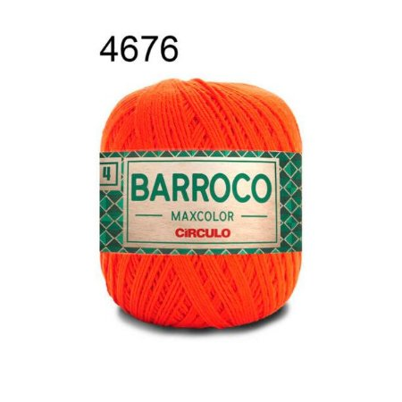 Barbante Barroco 4 Cor 4676 Brasa (590 Tex) 200gr - Círculo