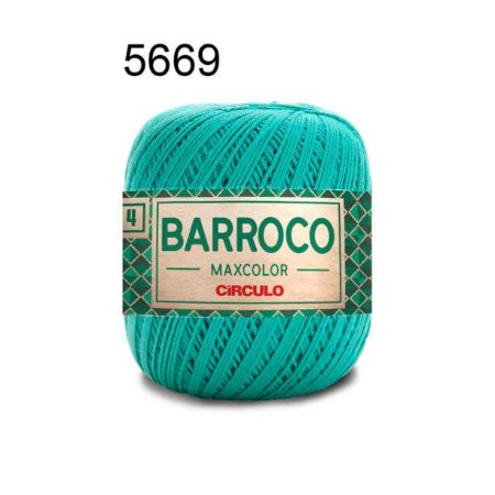 Barbante Barroco 4 Cor 5669 Tiffany (590 Tex) 200gr - Círculo