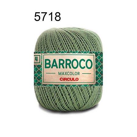 Barbante Barroco Maxcolor 4 Cor 5718 Militar (590 Tex) 200gr - Círculo
