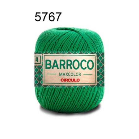 Barbante Barroco Maxcolor 4 Cor 5767 Bandeira (590 Tex) 200gr - Círculo