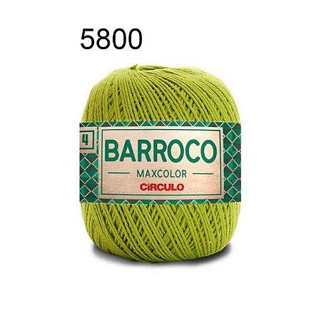 Barbante Barroco 4 Cor 5800 Pistache (590 Tex) 200gr - Círculo