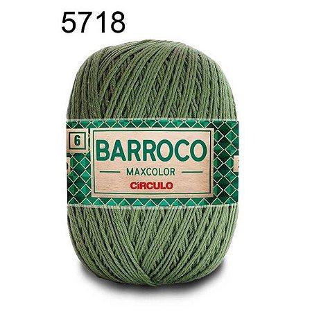Barbante Barroco Maxcolor 6 Cor 5718 Militar (885 Tex) 200gr - Círculo