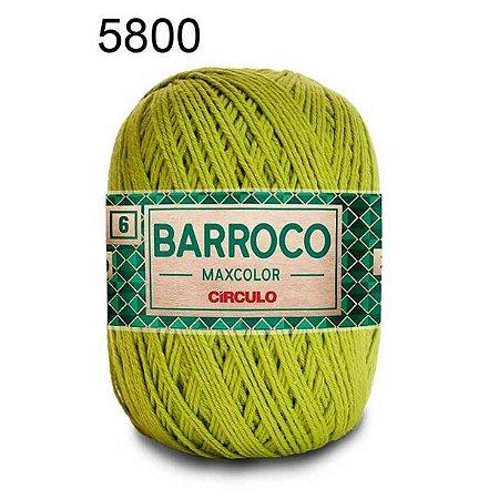 Barbante Barroco 6 Cor 5800 Pistache (885 Tex) 200gr - Círculo
