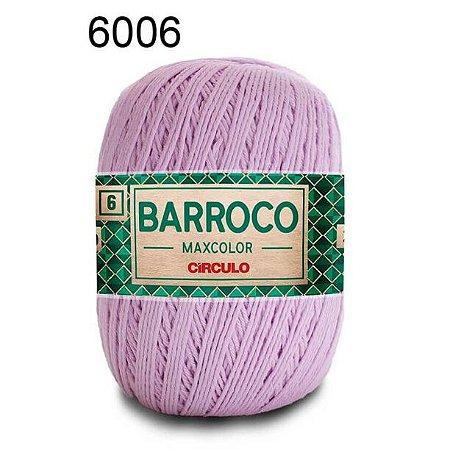 Barbante Barroco Maxcolor 6 Cor 6006 Lilás Candy (885 Tex) 200gr - Círculo