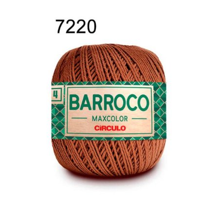 Barbante Barroco 4 Cor 7220 Tâmara (590 Tex) 200gr - Círculo