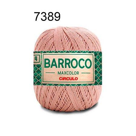 Barbante Barroco 4 Cor 7389 Rapadura (590 Tex) 200gr - Círculo