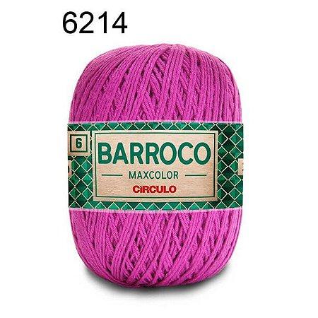 Barbante Barroco Maxcolor 6 Cor 6214 Violeta  (885 Tex) 200gr - Círculo