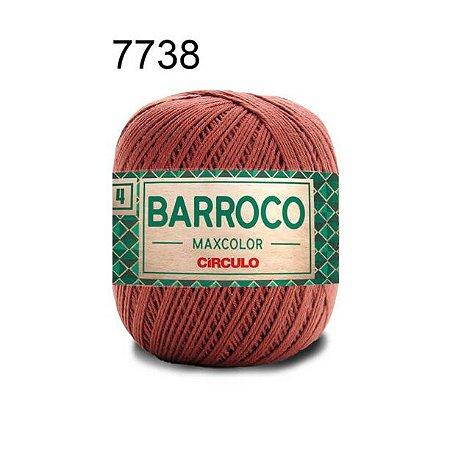 Barbante Barroco 4 Cor 7738 Café (590 Tex) 200gr - Círculo