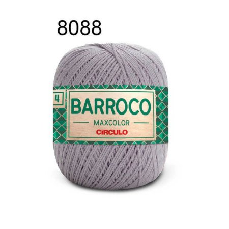 Barbante Barroco 4 Cor 8088 Polar (590 Tex) 200gr - Círculo