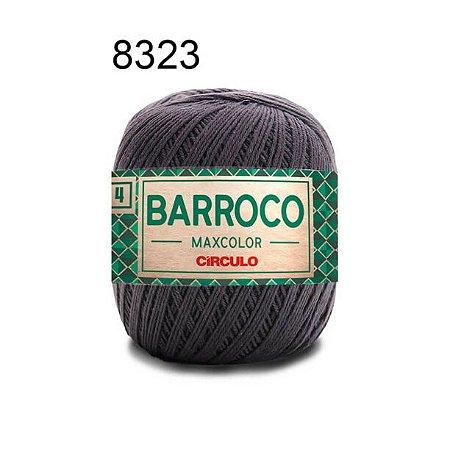 Barbante Barroco 4 Cor 8323 Cinza Ônix (590 Tex) 200gr - Círculo
