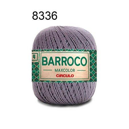 Barbante Barroco 4 Cor 8336 Cinza Chumbo (590 Tex) 200gr - Círculo