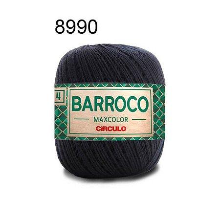 Barbante Barroco 4 Cor 8990 Preto (590 Tex) 200gr - Círculo