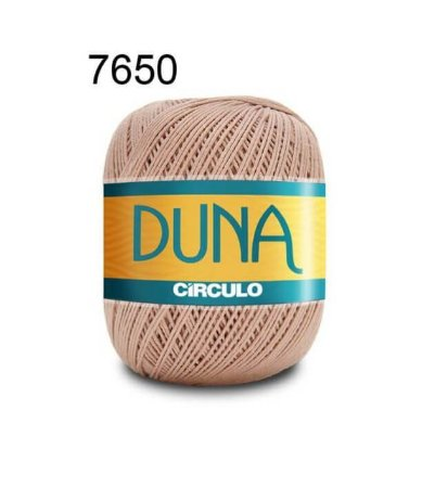 Linha Duna 100g Cor 7650 Amêndoa - Círculo