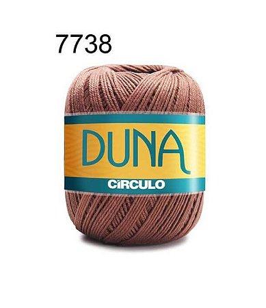 Linha Duna 100g Cor 7738 Café - Círculo