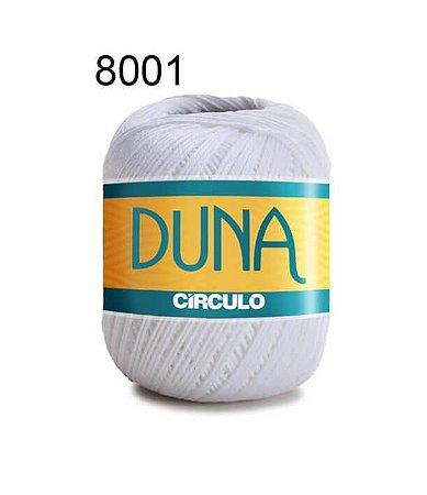 Linha Duna 100g Cor 8001 Branco - Círculo