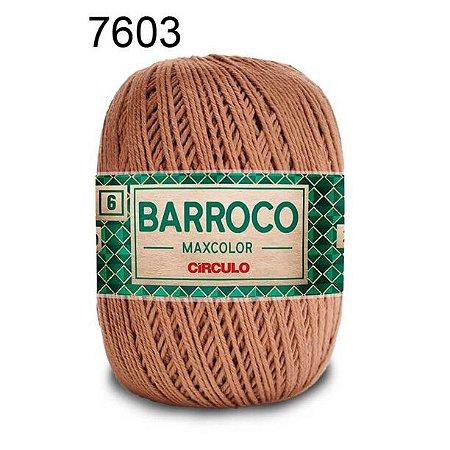 Barbante Barroco 6 Cor 7603 Castor  (885 Tex) 200gr - Círculo