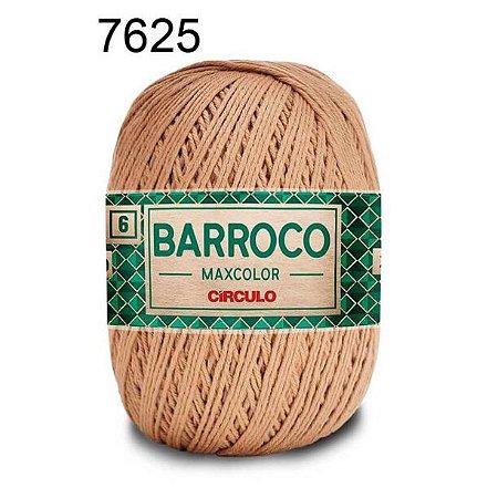 Barbante Barroco 6 Cor 7625 Castanha  (885 Tex) 200gr - Círculo