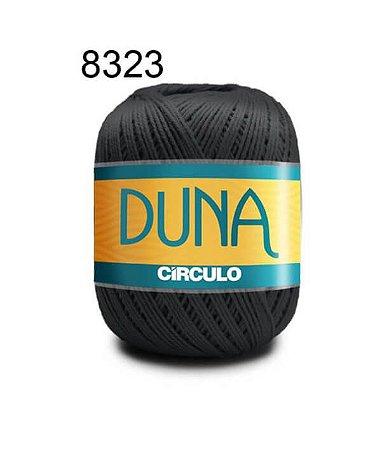 Linha Duna 100g Cor 8323 Cinza Ônix - Círculo