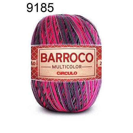 Barbante Barroco Multicolor 6 fios Cor 9185 Magia 226 Metros 200 Gramas