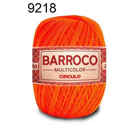 Barbante Barroco Multicolor 6 fios Cor 9218 Calêndula 226 Metros 200 Gramas