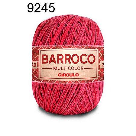 Barbante Barroco Multicolor 6 fios Cor 9245 Geleia 226 Metros 200 Gramas