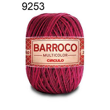 Barbante Barroco Multicolor 6 fios Cor 9253 Malbec 226 Metros 200 Gramas