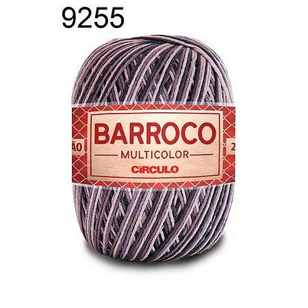 Barbante Barroco Multicolor 6 fios Cor 9255 Nublado 226 Metros 200 Gramas