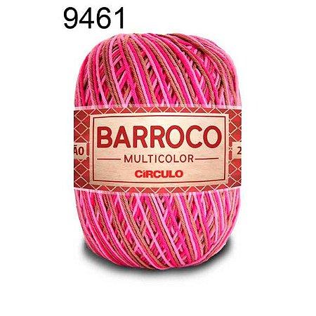Barbante Barroco Multicolor 6 fios Cor 9461 Sensação 226 Metros 200 Gramas