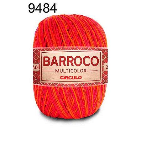 Barbante Barroco Multicolor 6 fios Cor 9484 Verão 226 Metros 200 Gramas