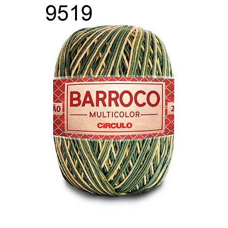 Barbante Barroco Multicolor 6 fios Cor 9519 Cana de Cheiro 226 Metros 200 Gramas