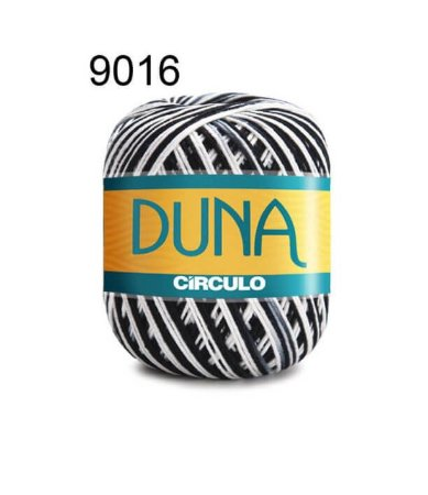 Linha Duna 100g Cor 9016 Zebra - Círculo