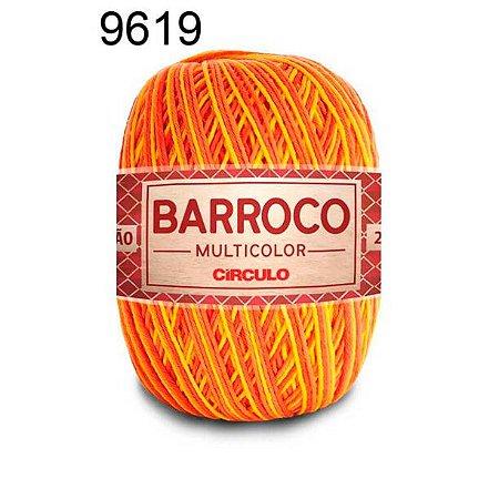 Barbante Barroco Multicolor 6 fios Cor 9619 California 226 Metros 200 Gramas