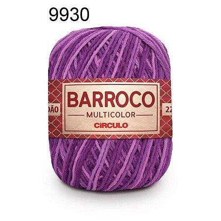 Barbante Barroco Multicolor 6 fios Cor 9930 Buque 226 Metros 200 Gramas