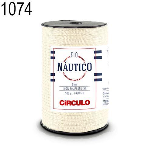 Fio Náutico 500gr Cor 1074 Creme - Círculo