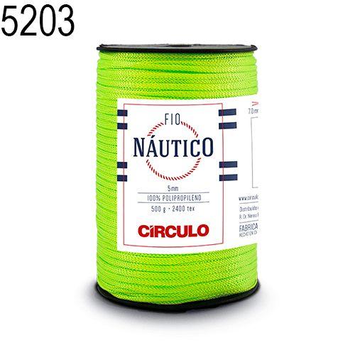 Fio Náutico 500gr Cor 5203 Greenery - Círculo