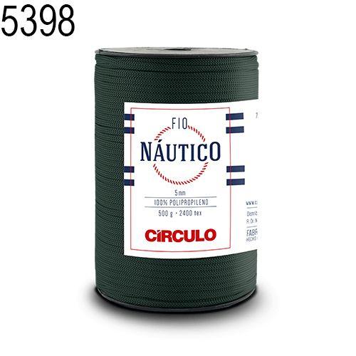 Fio Náutico 500gr Cor 5398 Musgo - Círculo