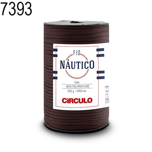 Fio Náutico 500gr Cor 7393 Raiz - Círculo