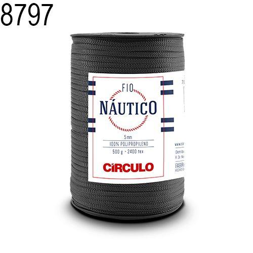 Fio Náutico 500gr Cor 8797 Aço - Círculo
