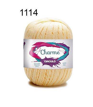Linha Charme Cor 1114 Amarelo Candy 396 Metros