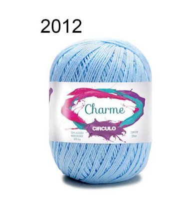 Linha Charme Cor 2012 Azul Candy 396 Metros