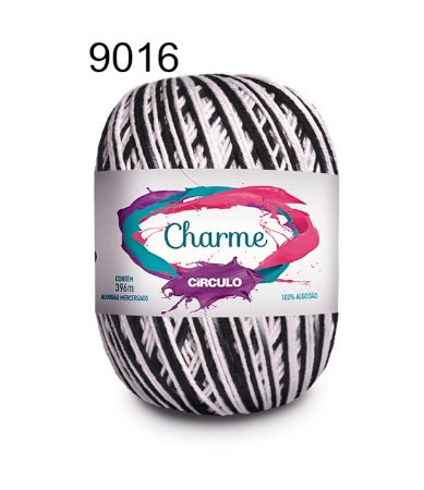 Linha Charme Cor 9016 Zebra 396 Metros