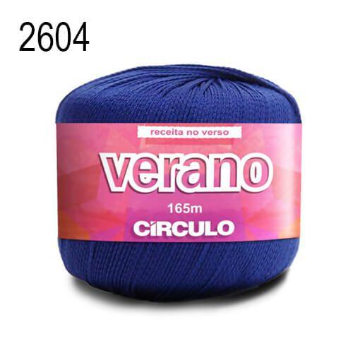Linha Verano Cor 2604 Azul Marinho 165 Metros