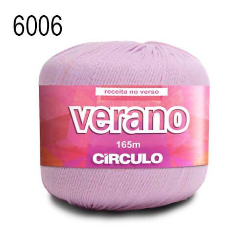Linha Verano Cor 6006 Lilás Candy 165 Metros