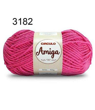 Lã Amiga Cor 3182 Pitaya 100 Gramas