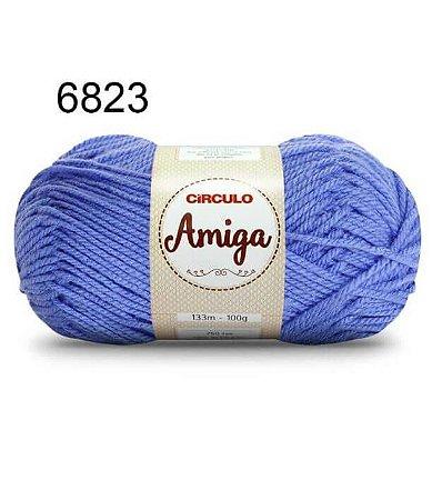 Lã Amiga Cor 6823 Serenety 100 Gramas