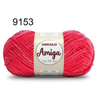 Lã Amiga Cor 9153 Cabaré 100 Gramas